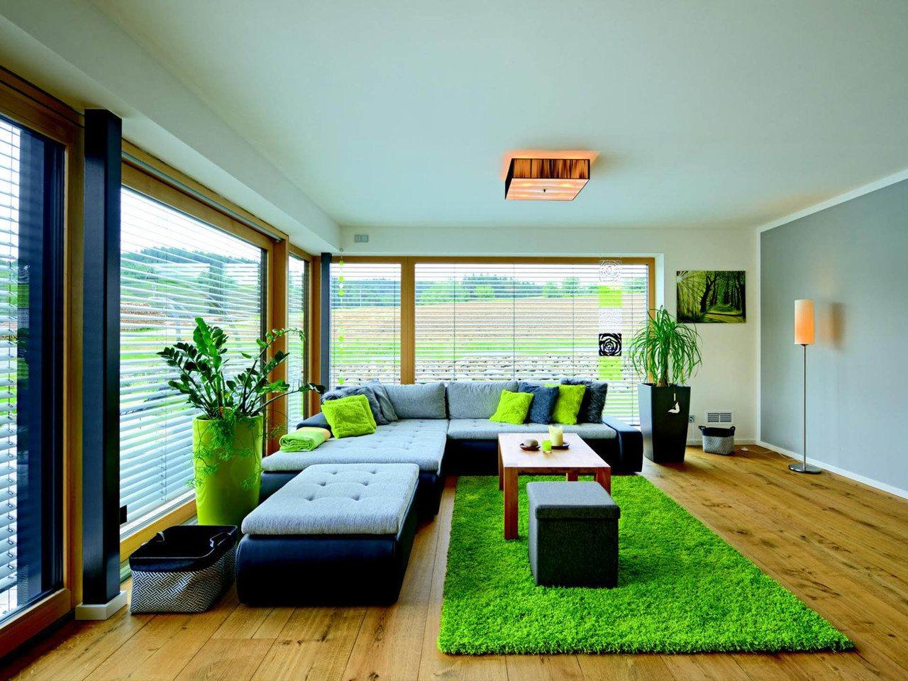 Haus Wagner Gruber Holzhaus - Wohnzimmer