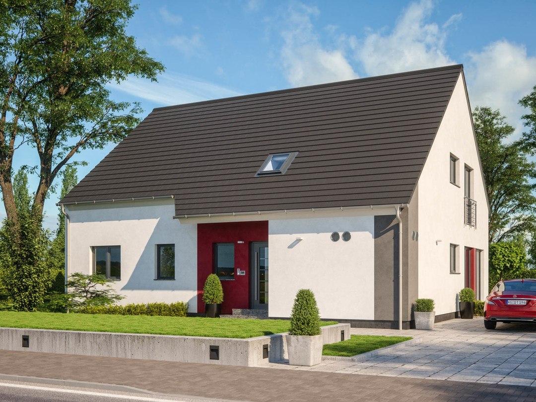 Zweifamilienhaus clou 254 rensch haus for Hausplanung berlin