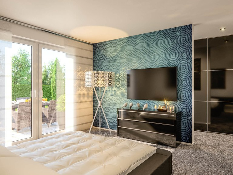 Einfanilienhaus Clou 254 - Schlafzimmer