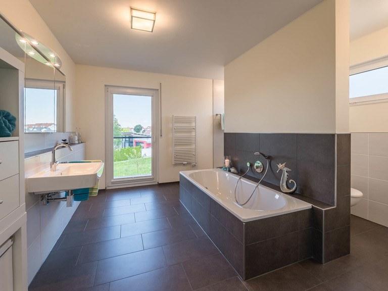 Kundenhaus Lancaster - Badezimmer