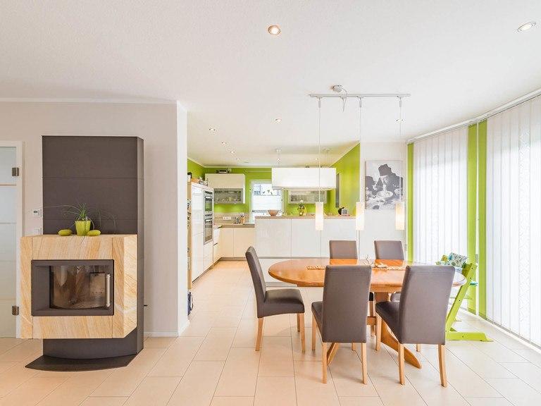 Kundenhaus Linz - Wohnzimmer