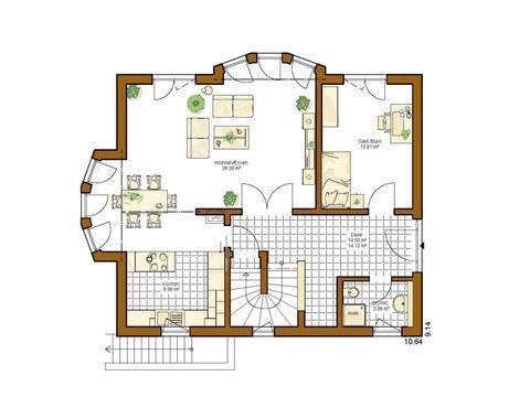Kundenhaus Linz - Grundriss EG