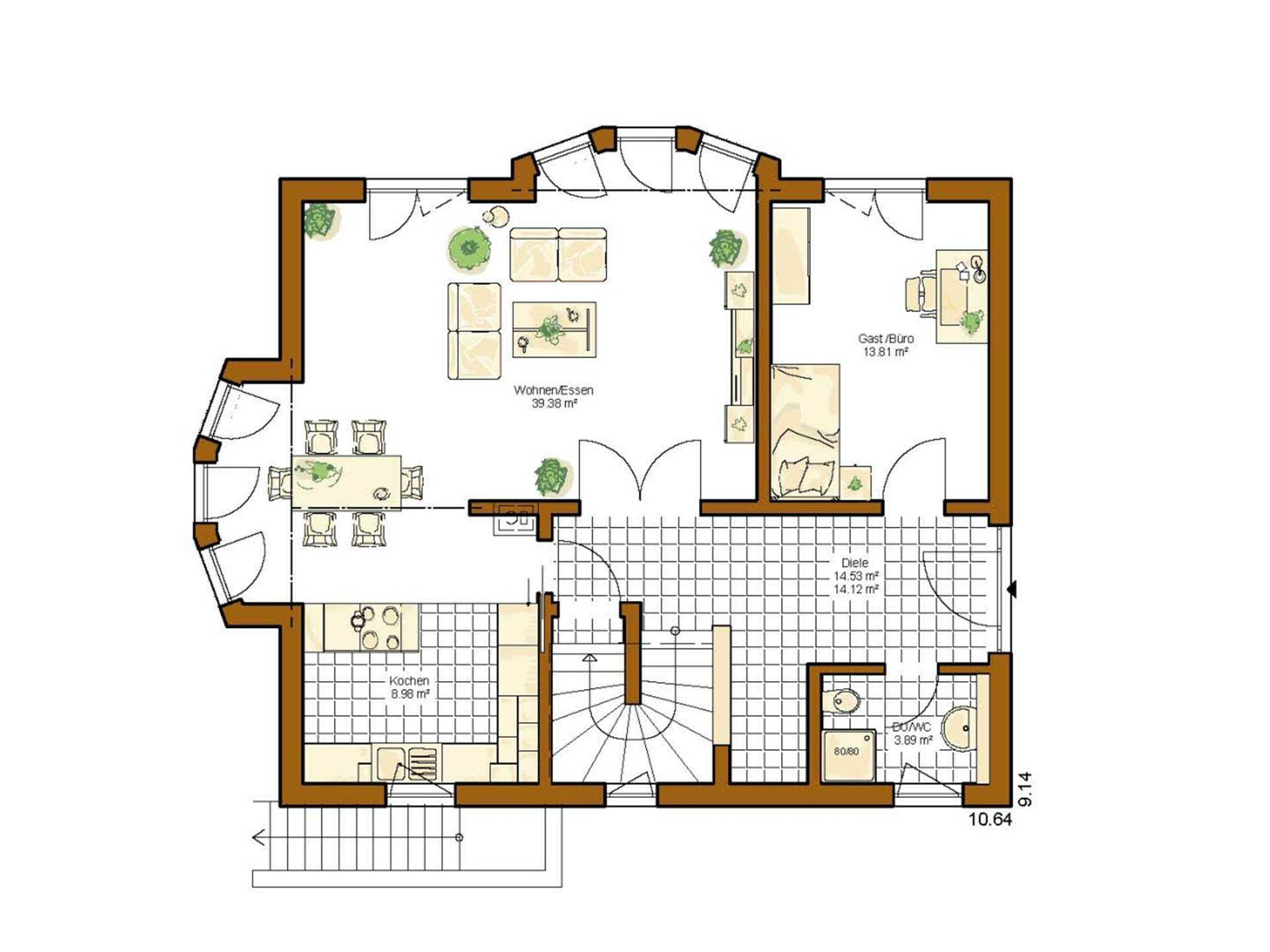kundenhaus linz rensch haus. Black Bedroom Furniture Sets. Home Design Ideas