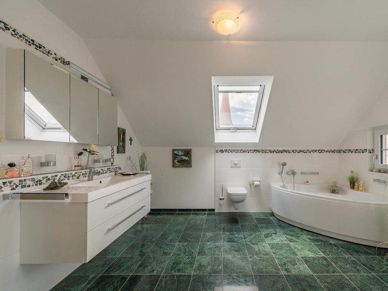 Kundenhaus Turin - Badezimmer