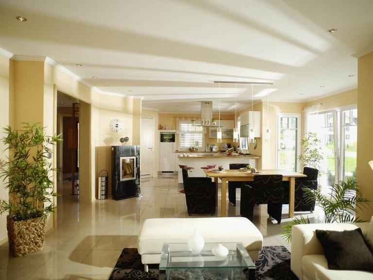 Musterhaus Barcelona - Wohnzimmer