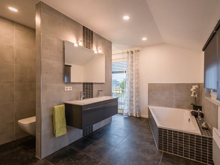 Musterhaus Modena - Badezimmer