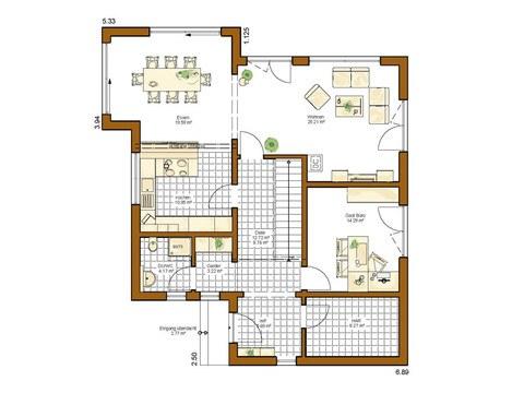 Musterhaus Modena - Grundriss EG