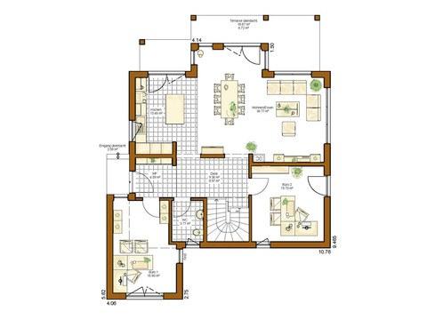 Musterhaus Montana - Grundriss EG
