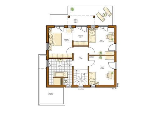 Musterhaus Montana - Grundriss OG