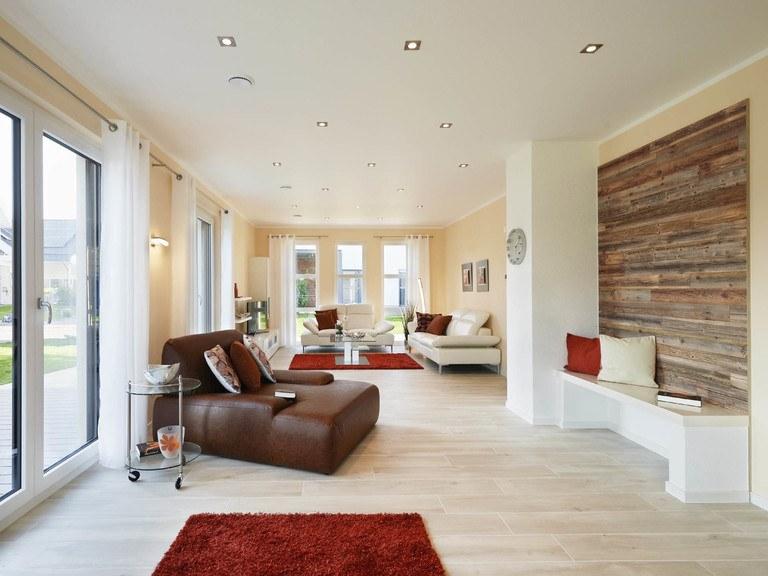 Musterhaus Oslo - Wohnzimmer