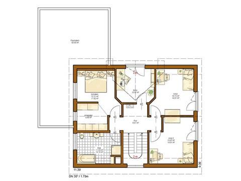 Haus Twinline R Neapel - Grundriss OG