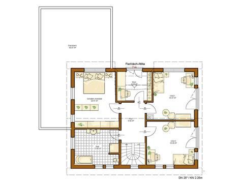 Haus Twinline R Savona - Grundriss OG