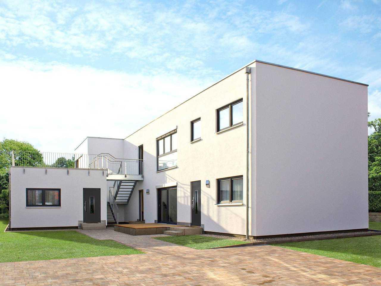 Bauhaus Story Objektbau 427 LEHNER HAUS