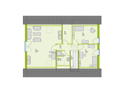 Massa Haus LifeStyle 4 Grundriss DG