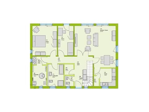 Massa Haus LifeStyle 4 Grundriss EG