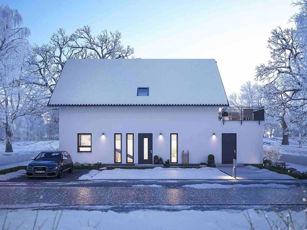 Einfamilienhaus LifeStyle 18.02 S - Winter