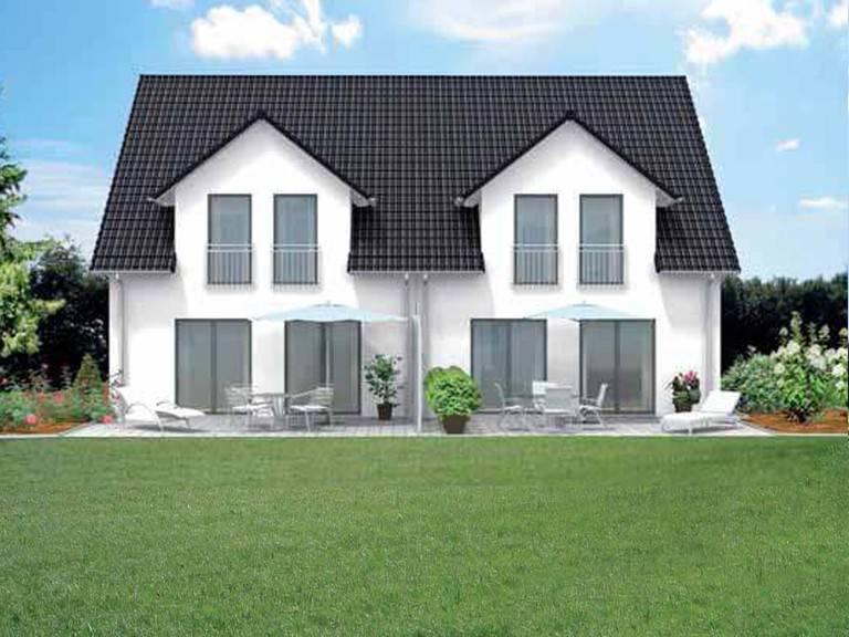 doppelhaus family 110 econ haus. Black Bedroom Furniture Sets. Home Design Ideas