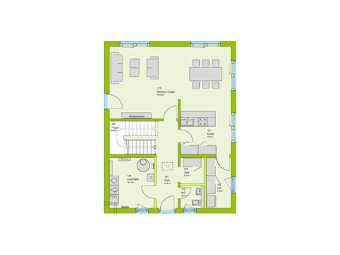 Massa Haus City 6 Grundriss EG
