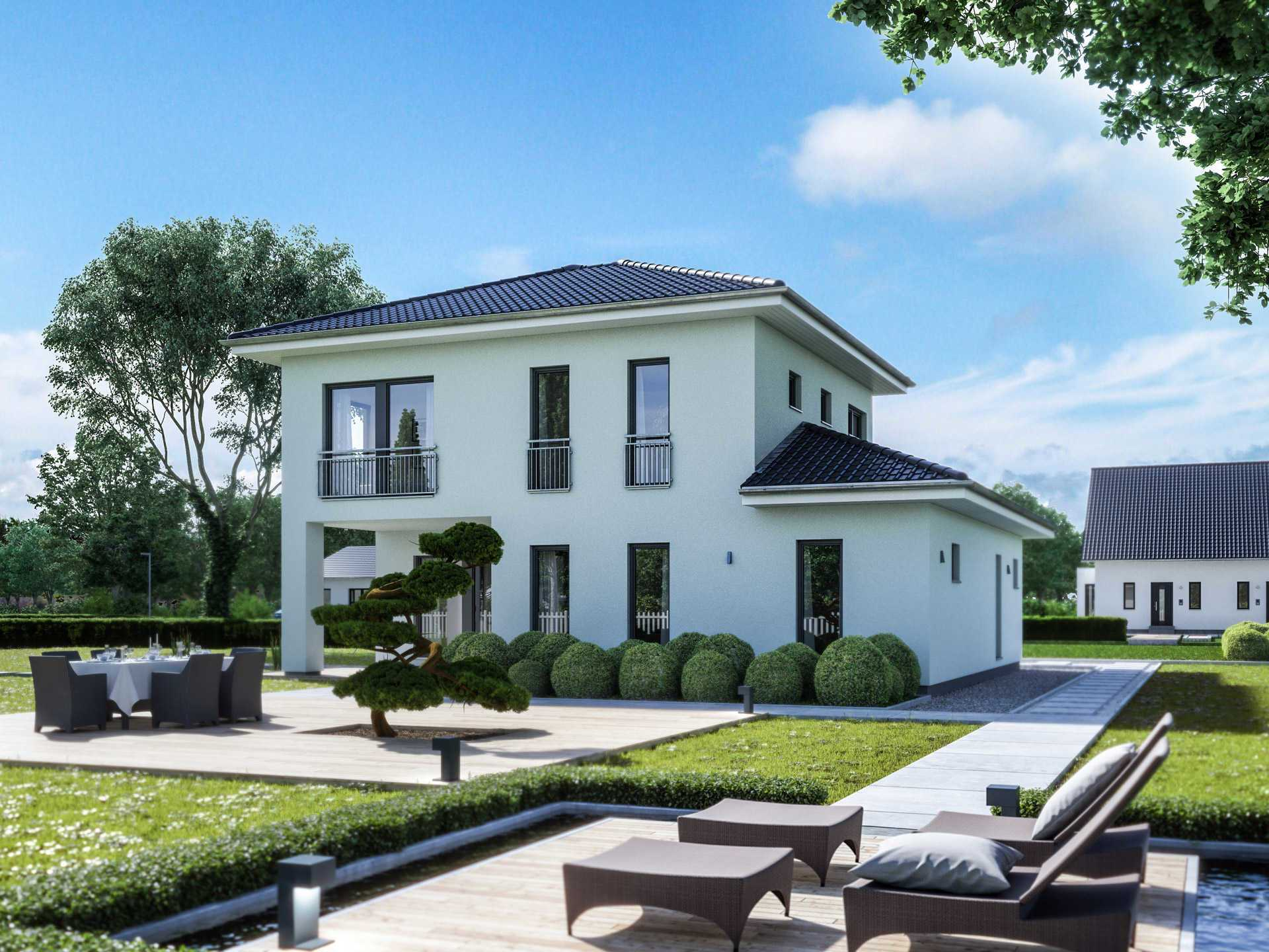 einfamilienhaus city 8 massa haus. Black Bedroom Furniture Sets. Home Design Ideas