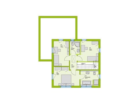 Massa Haus City 9 Grundriss OG