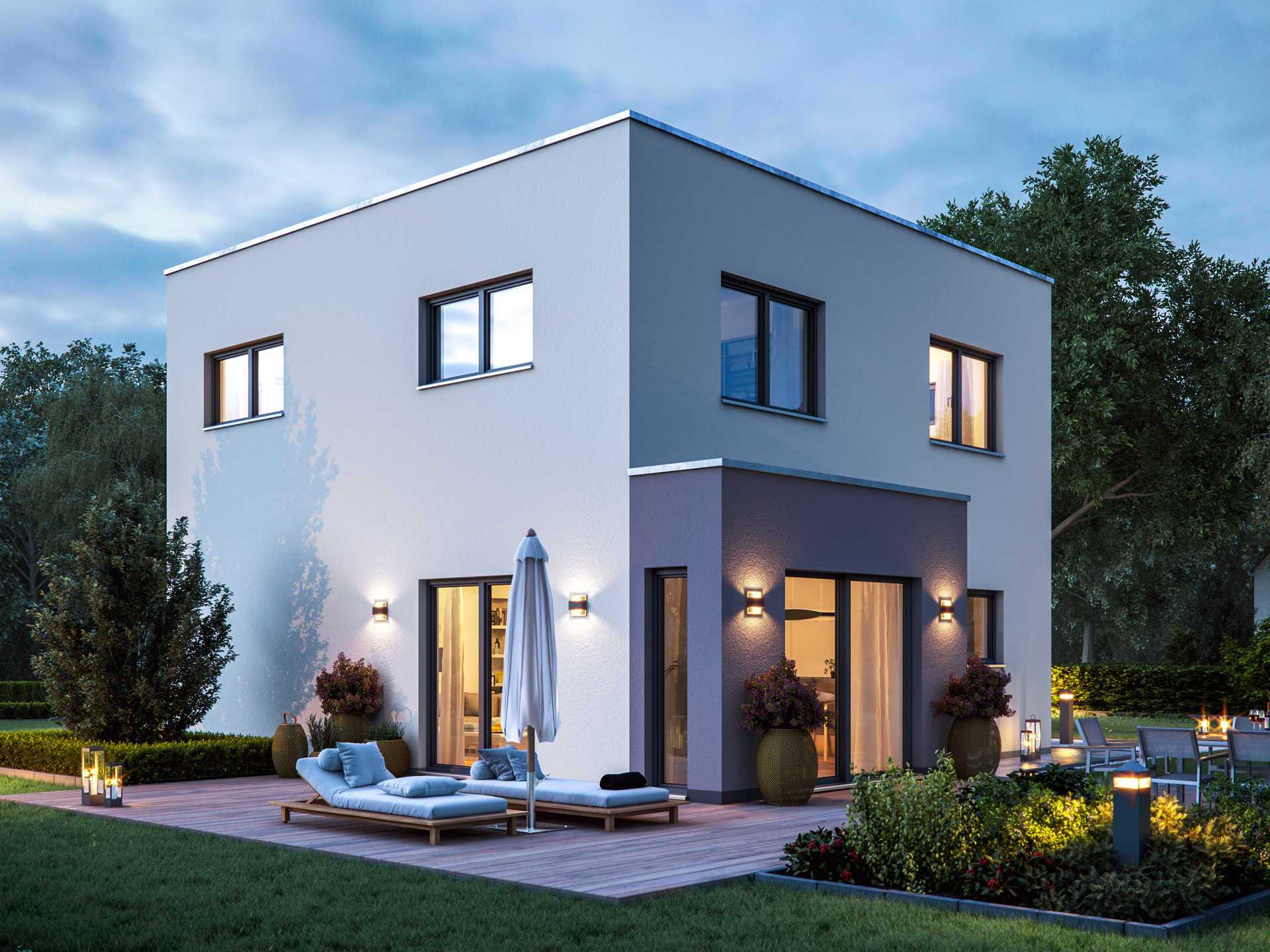einfamilienhaus cube 6 massa haus. Black Bedroom Furniture Sets. Home Design Ideas