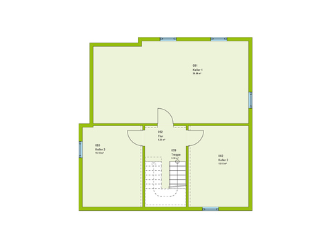 Massa Haus Cube 7 Grundriss KG