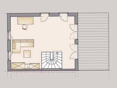 Doppelhaus Trend 175 Grundriss DG