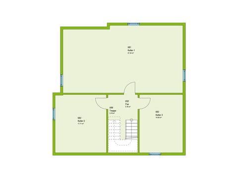 Massa Haus Cube 8 Grundriss KG