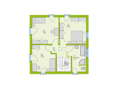 Massa Haus Vario 2V Grundriss OG