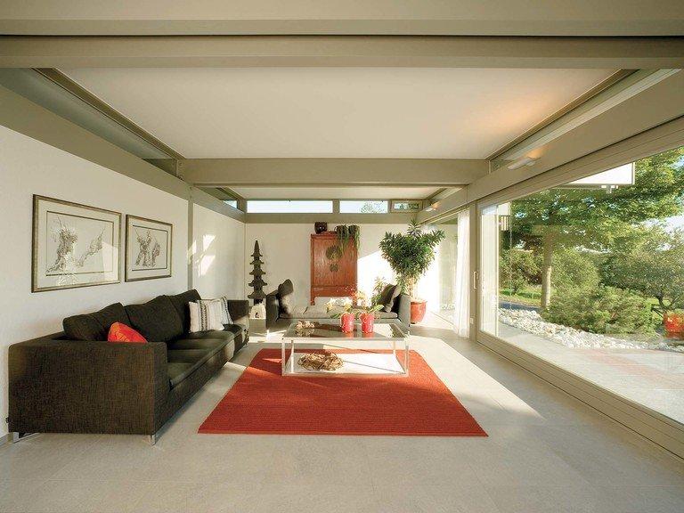 Musterhaus HUF Haus ART 3 - Wohnzimmer