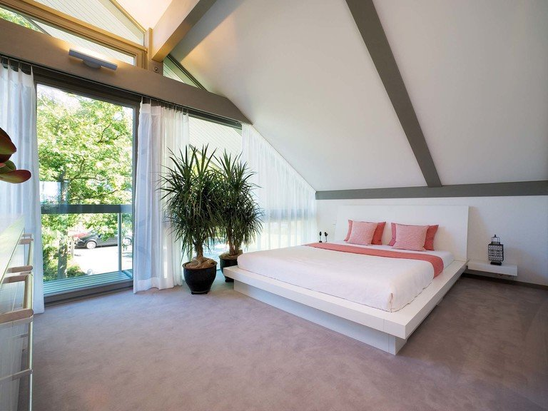 Musterhaus HUF Haus ART 3 - Schlafzimmer
