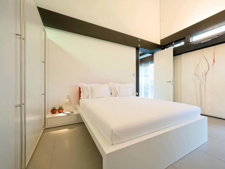 Musterhaus HUF Haus ART 5 - Schlafzimmer