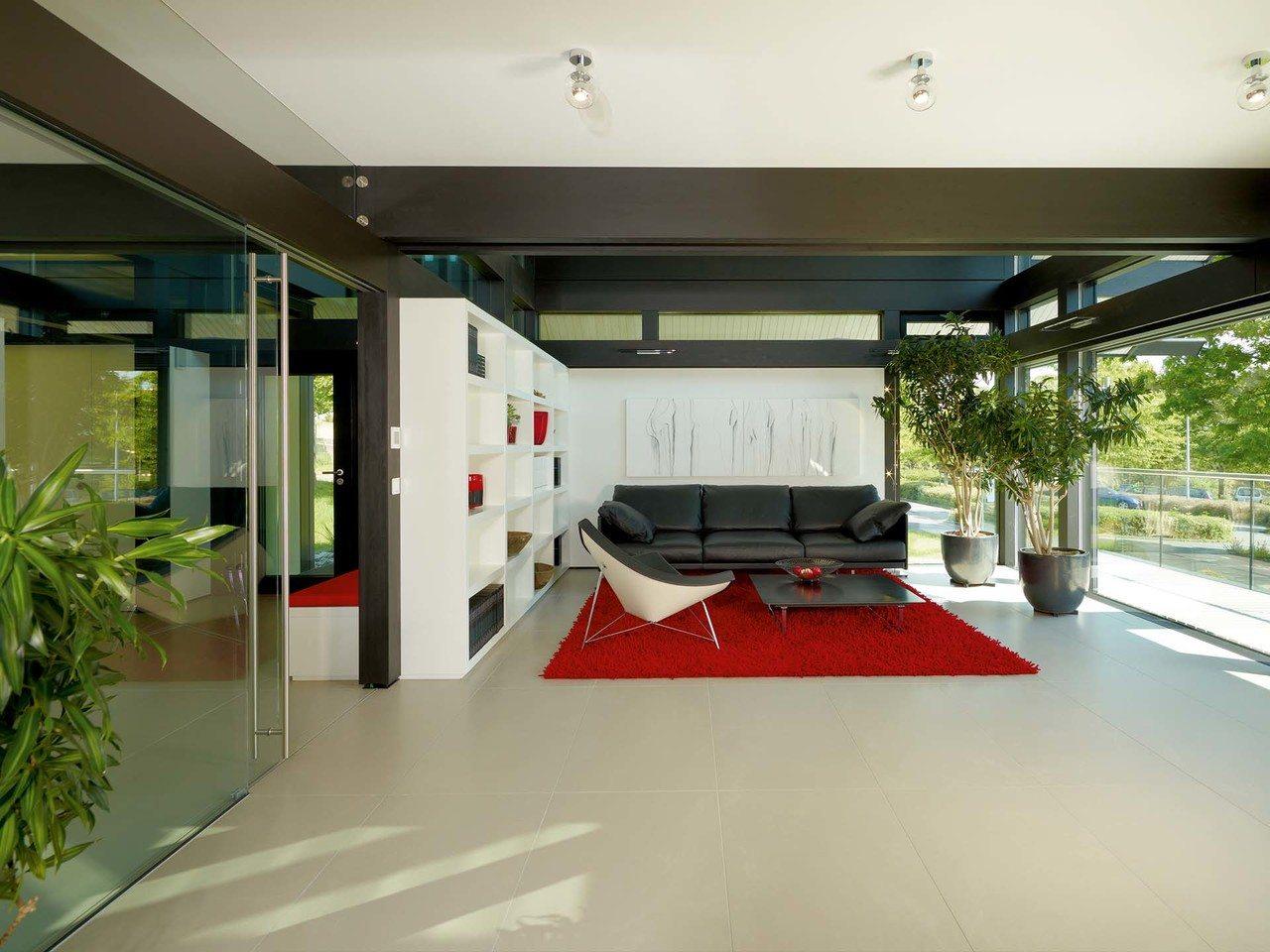 Musterhaus HUF Haus ART 5 weitere Ansicht Wohnzimmer