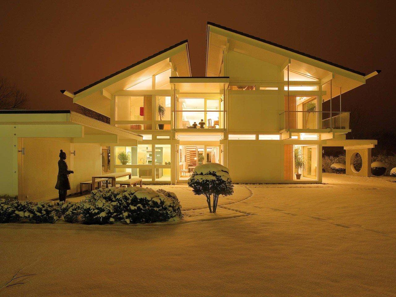 Musterhaus HUF Haus ART 6 - Winter
