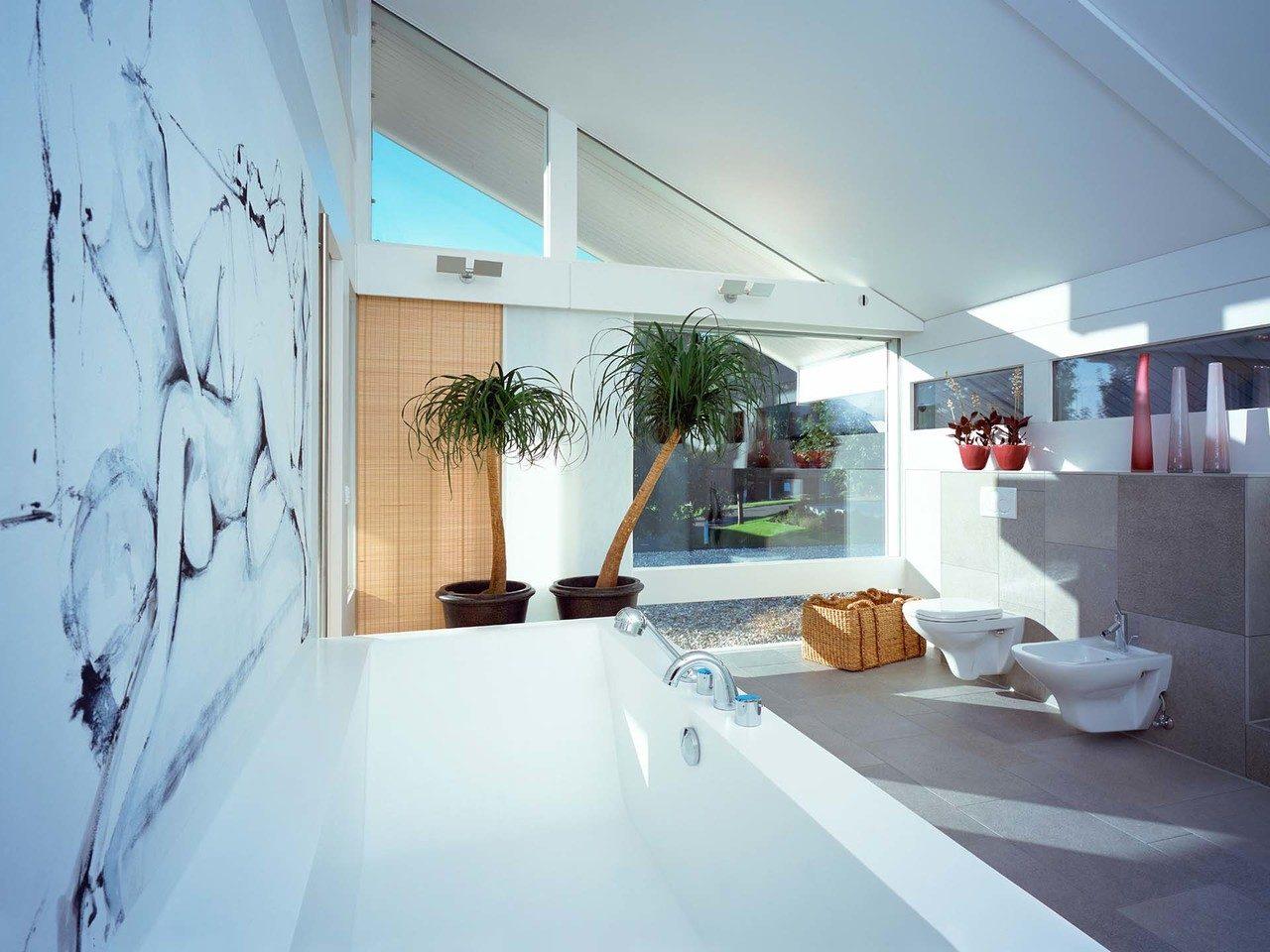 Musterhaus HUF Haus ART 6 - Bad Ansicht 3