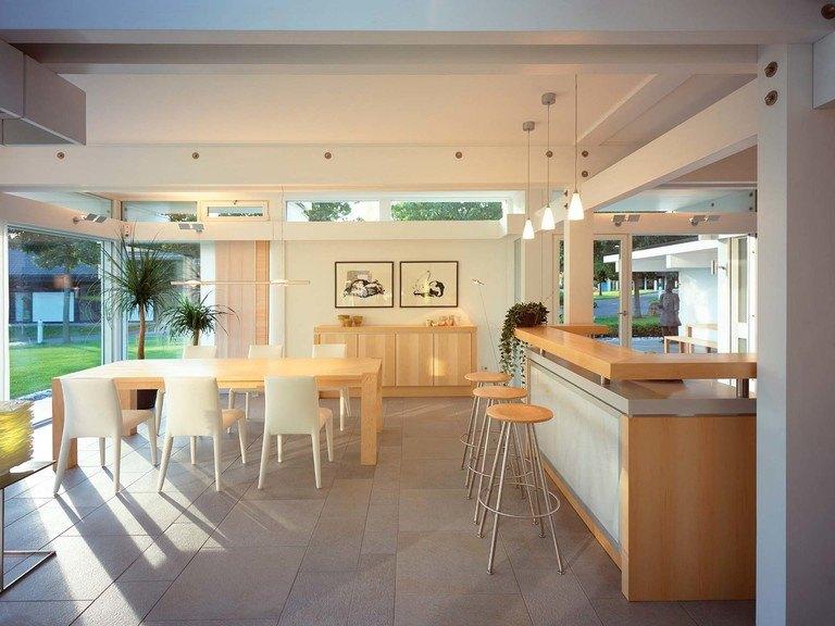 Musterhaus HUF Haus ART 6 - Wohnbereich