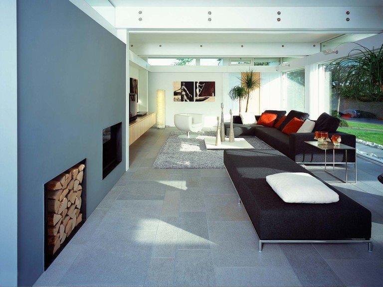 Musterhaus HUF Haus ART 6 - Wohnzimmer