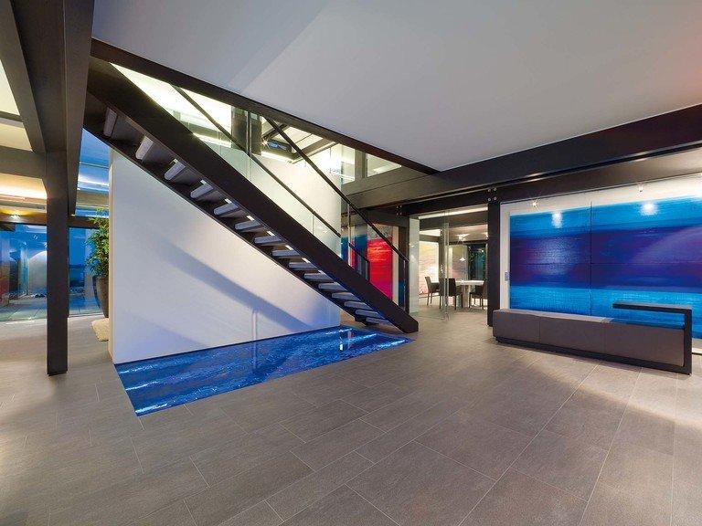 Musterhaus HUF Haus ART 9 - Foyer