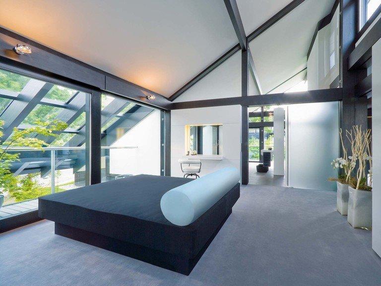 Musterhaus HUF Haus ART 9 - Schlafzimmer