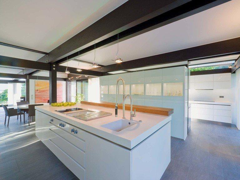Musterhaus HUF Haus ART 9 - Küche