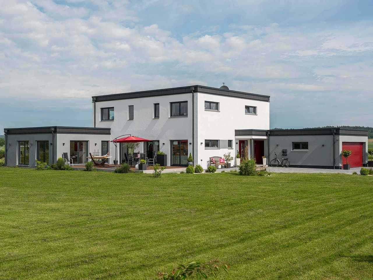 Individuell geplantes Kundenhaus 5 - WOLF System Haus