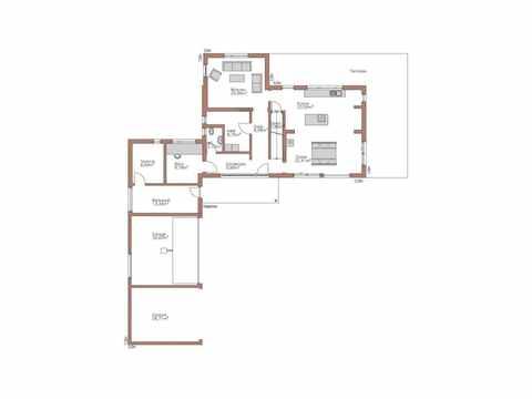 Individuell geplantes Kundenhaus 6 - WOLF System Haus Grundriss EG
