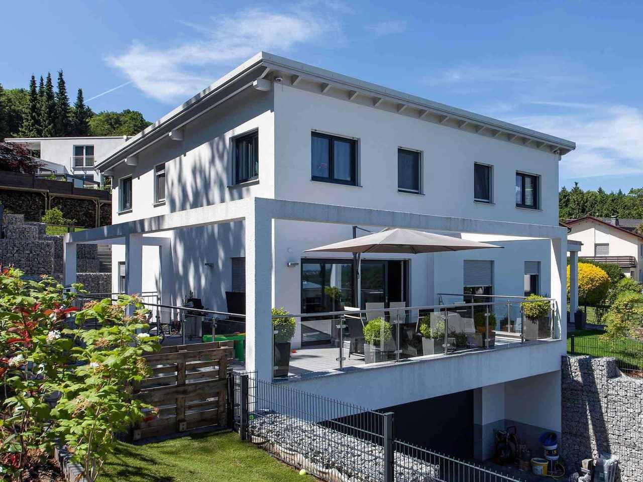 Individuell geplantes Kundenhaus 7 - WOLF System Haus
