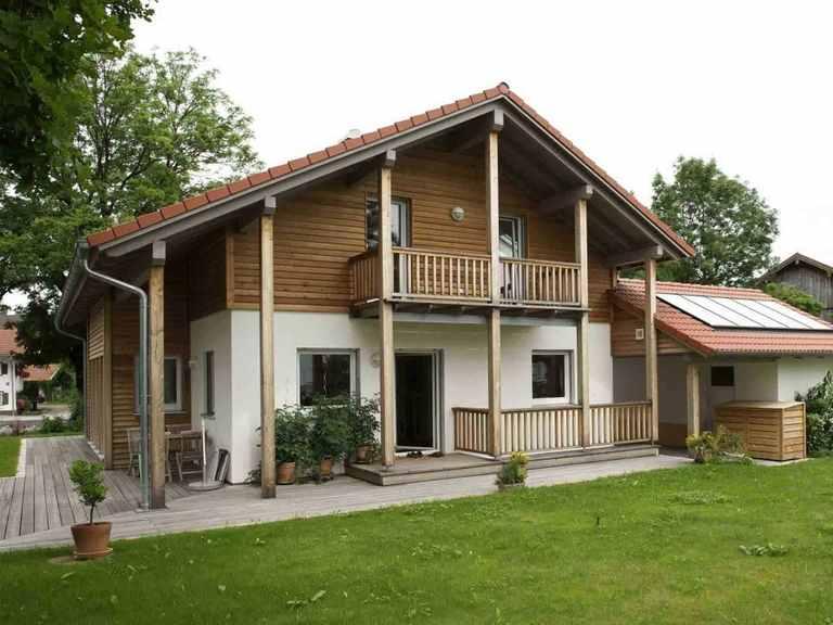 Individuell geplantes Kundenhaus 8 - WOLF System Haus