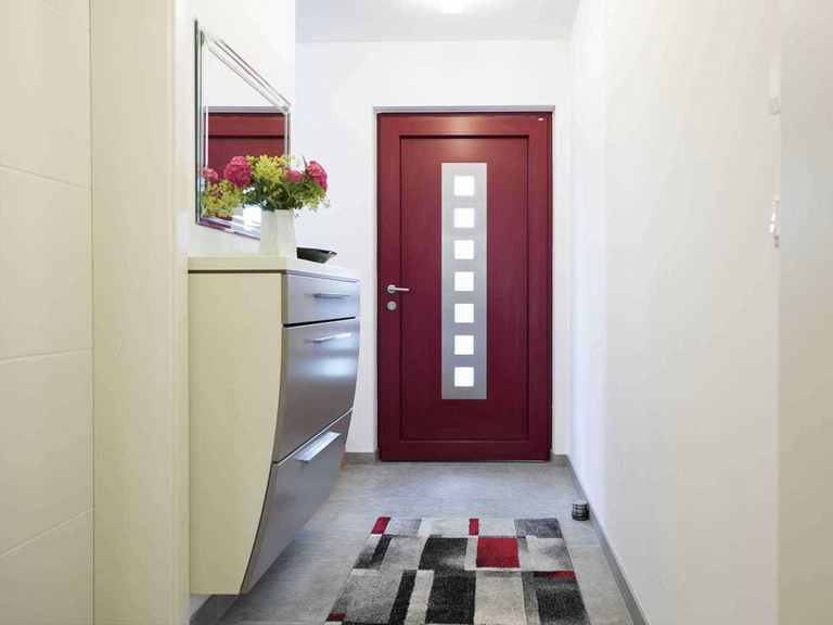 Individuell geplantes Kundenhaus 9 - WOLF System Haus Flur