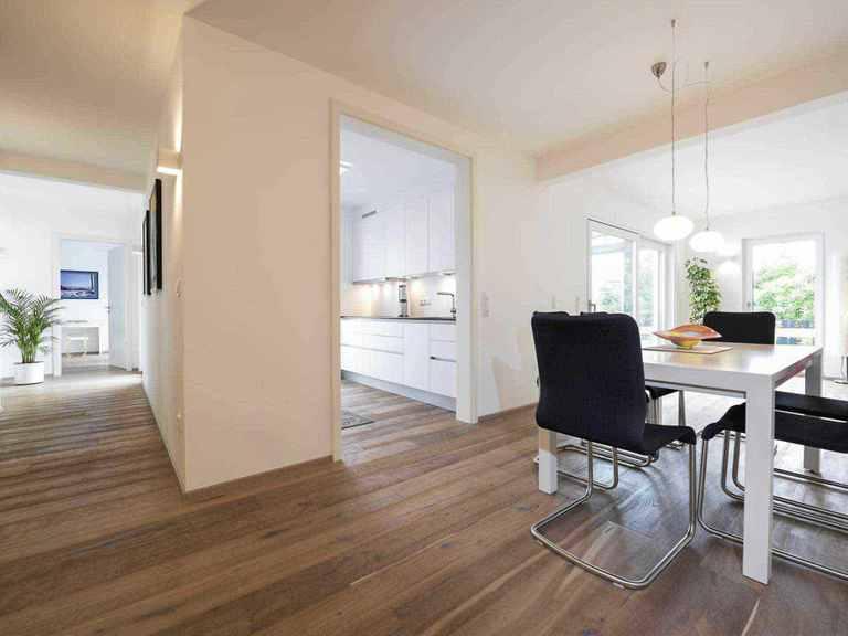 Individuell geplantes Kundenhaus 9 - WOLF System Haus Essbereich