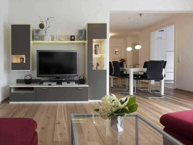 Individuell geplantes Kundenhaus 9 - WOLF System Haus Wohnzimmer