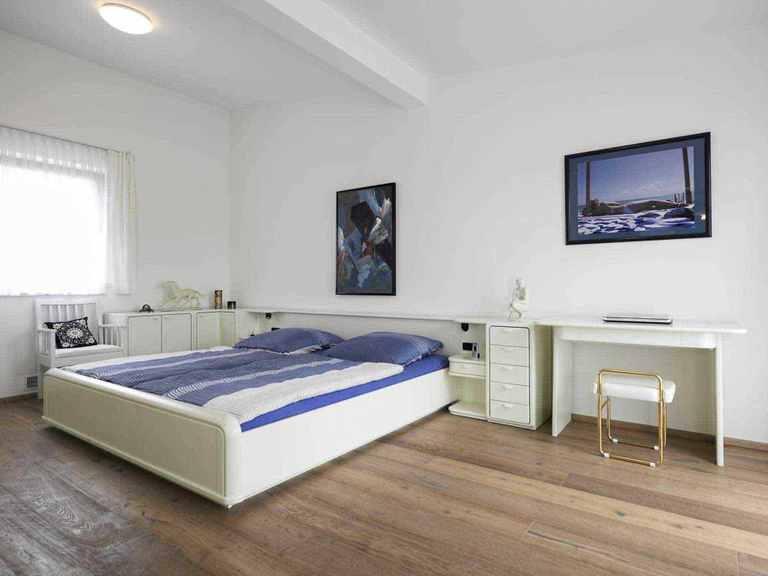 Individuell geplantes Kundenhaus 9 - WOLF System Haus Schlafzimmer