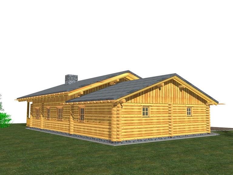 Hausmodell ANA - Finnland Block Ansicht 4