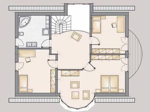 Exklusivhaus 200 Grundriss DG